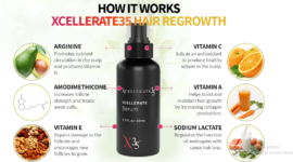 XCELLERATE35 HAIR REGROWTH